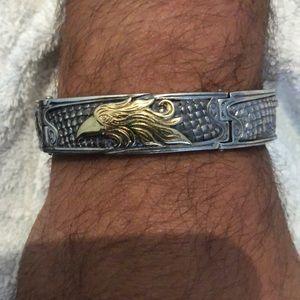 Men's Konstantino 18k and silver Bracelet